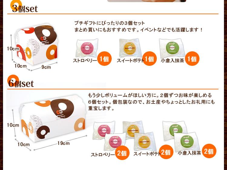 焼きドーナッツセット内容