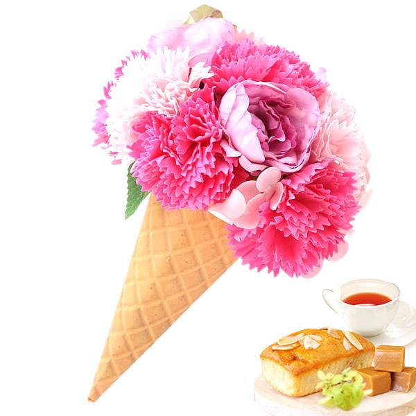母の日新作!シャボンアイスクリームフラワー&スイーツ